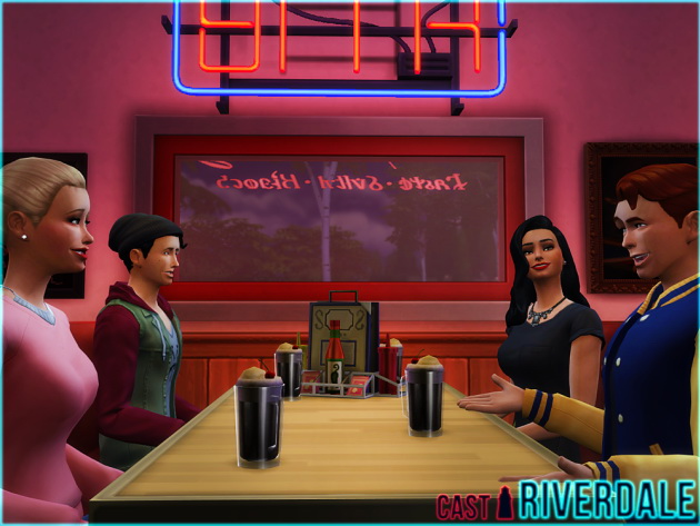 RIVERDALE CAST by Waterwoman at Akisima image 5618 Sims 4 Updates