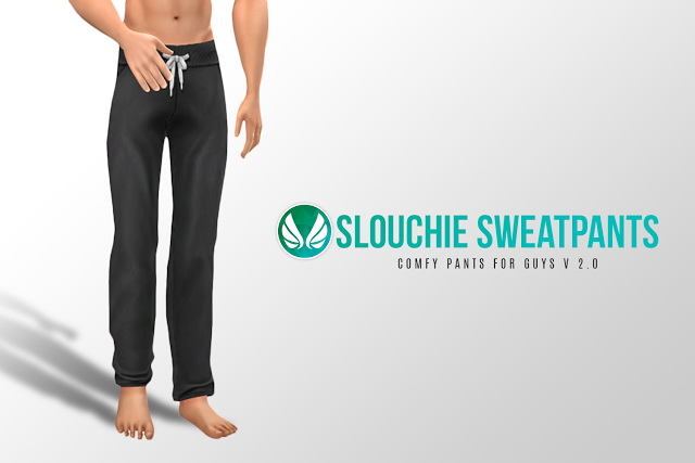 Slouchie Sweatpants V2.0 at Simsational Designs image 5622 Sims 4 Updates