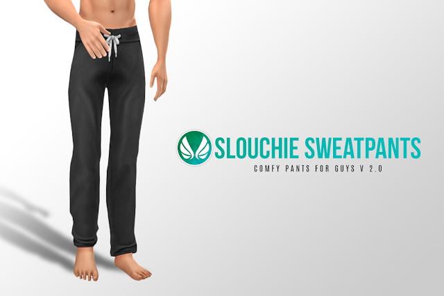 Slouchie Sweatpants V2.0 at Simsational Designs image 5622 Sims 4 Updates