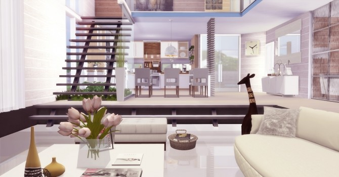 Modern Mansion at Lily Sims image 564 670x351 Sims 4 Updates