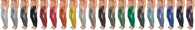 Sims 4 Slouchie Sweatpants V2.0 at Simsational Designs
