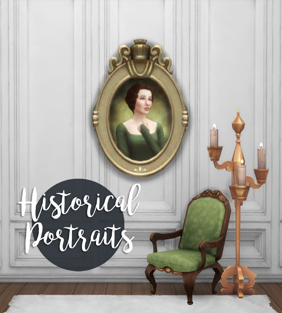 Historical Portraits at Historical Sims Life image 575 Sims 4 Updates