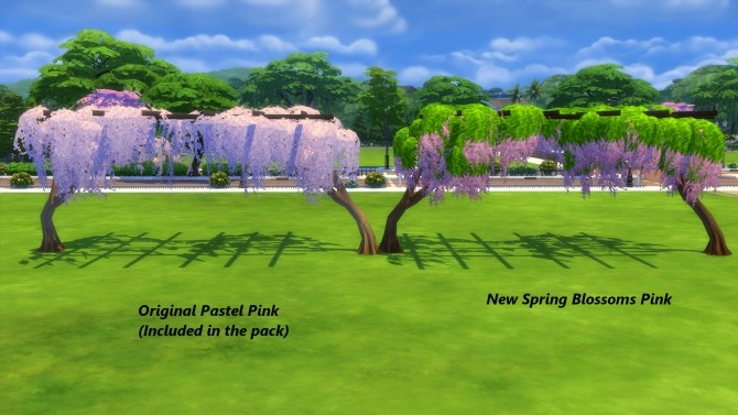 Four Seasons Tree Trellis by Snowhaze at Mod The Sims image 576 670x377 Sims 4 Updates