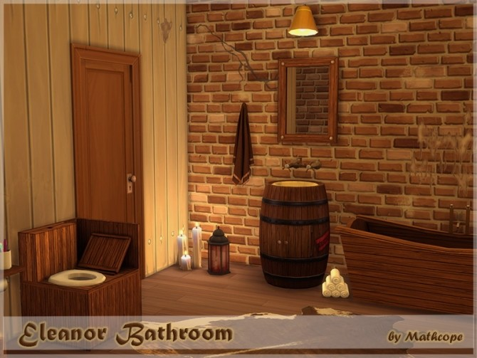 Eleanor bathroom by Mathcope at Sims 4 Studio image 5810 670x503 Sims 4 Updates