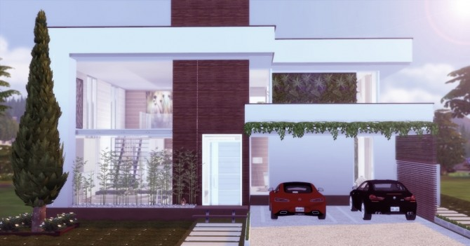 Modern Mansion at Lily Sims image 584 670x351 Sims 4 Updates