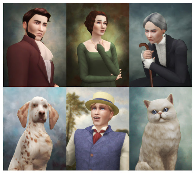 Historical Portraits at Historical Sims Life image 585 Sims 4 Updates