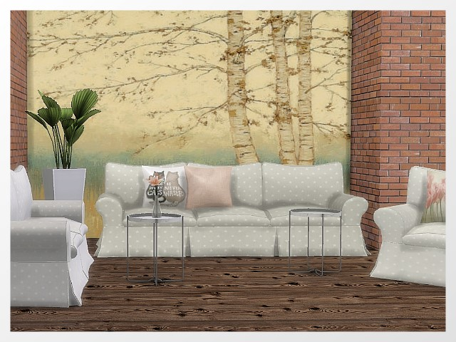 Coastal Quarter Livingroom by Oldbox at All 4 Sims image 591 Sims 4 Updates