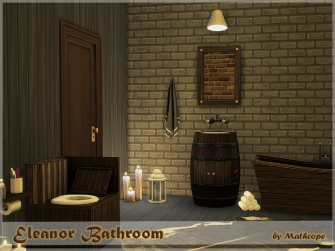 Eleanor bathroom by Mathcope at Sims 4 Studio image 5910 670x503 Sims 4 Updates
