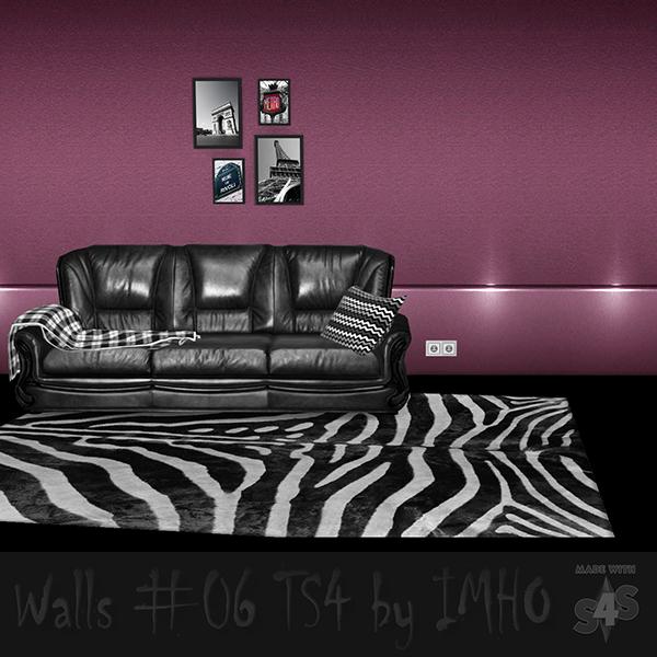 Sims 4 Walls #06 at IMHO Sims 4
