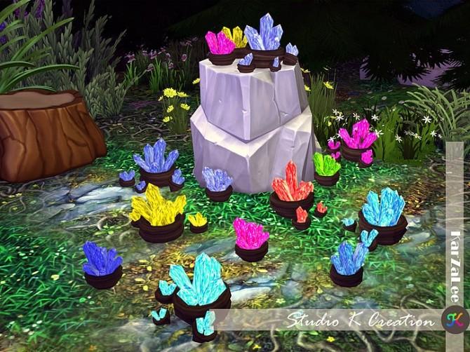 Sims 4 Tiberium lamps at Studio K Creation