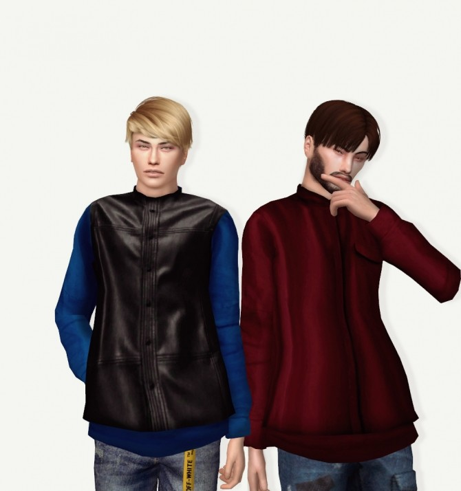 Simsimi Back Zip Up Top Conversion at Astya96 image 595 670x714 Sims 4 Updates