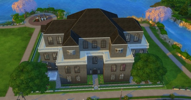 The Manor House by Mylinda Antoinette at Mod The Sims image 596 670x352 Sims 4 Updates