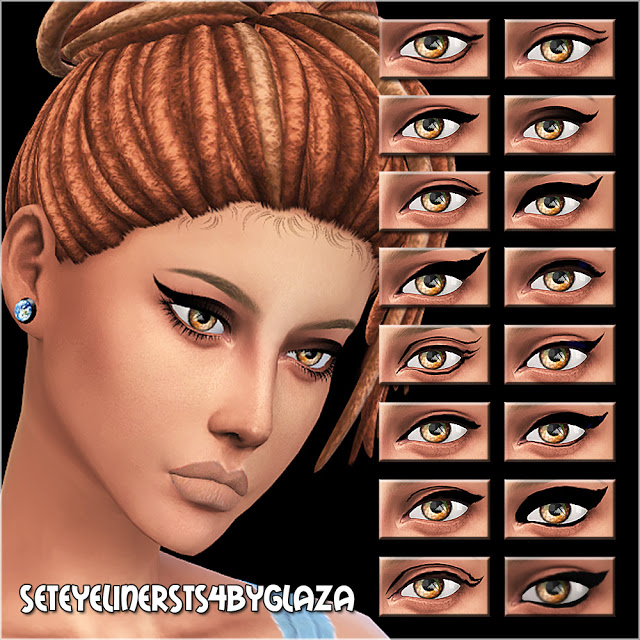 Eyeliner set at All by Glaza image 6017 Sims 4 Updates