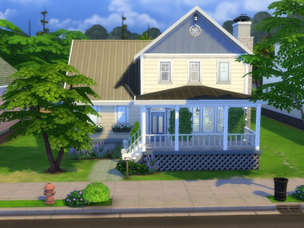 Sims 4 Cassatt Cottage by Suanin at TSR
