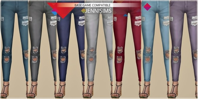 Ripped Jeans at Jenni Sims image 6122 670x337 Sims 4 Updates