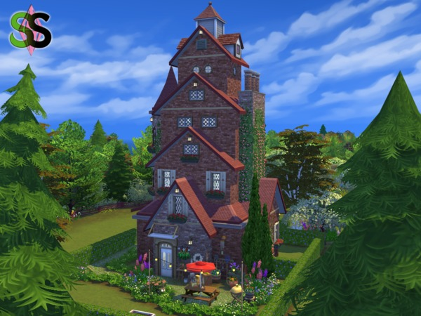 Sims 4 Best Wishes house by SIMSnippets at TSR