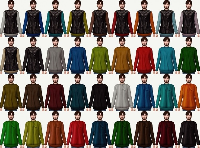 Simsimi Back Zip Up Top Conversion at Astya96 image 619 670x498 Sims 4 Updates