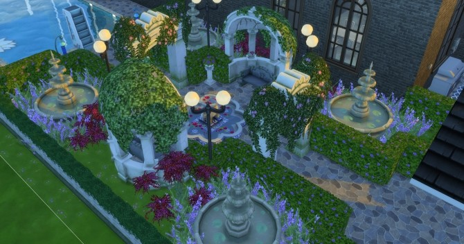 The Manor House by Mylinda Antoinette at Mod The Sims image 626 670x352 Sims 4 Updates