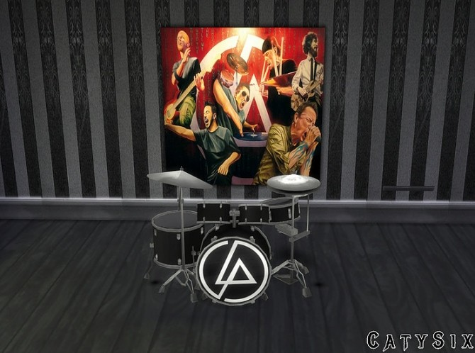Playable Drums V4 at CatySix image 6318 670x498 Sims 4 Updates