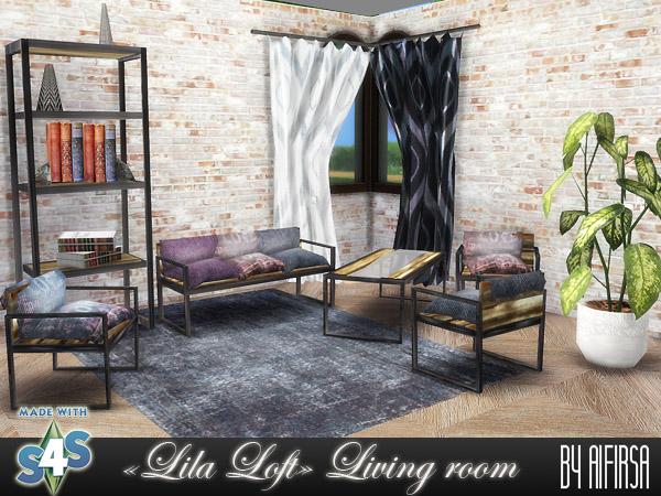 Lila Livingroom at Aifirsa image 634 Sims 4 Updates