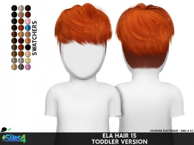 ELA HAIR 15 M TODDLER VERSION at Coupure Electrique image 635 670x503 Sims 4 Updates