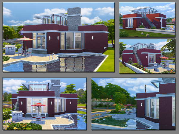 Sims 4 MB Carmino house by matomibotaki at TSR