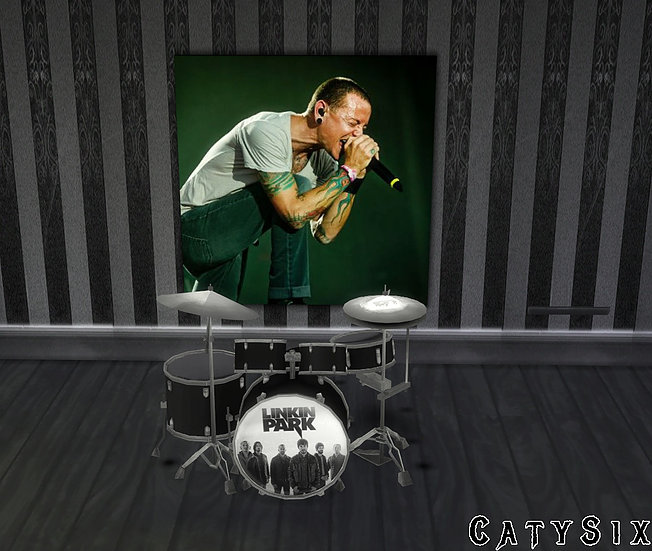Playable Drums V4 at CatySix image 6419 Sims 4 Updates