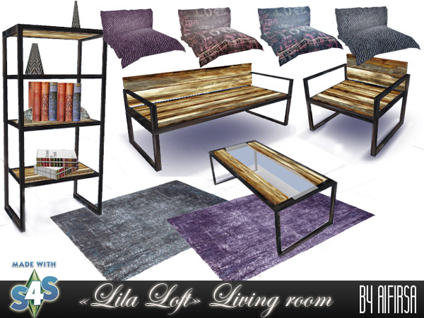 Lila Livingroom at Aifirsa image 644 Sims 4 Updates