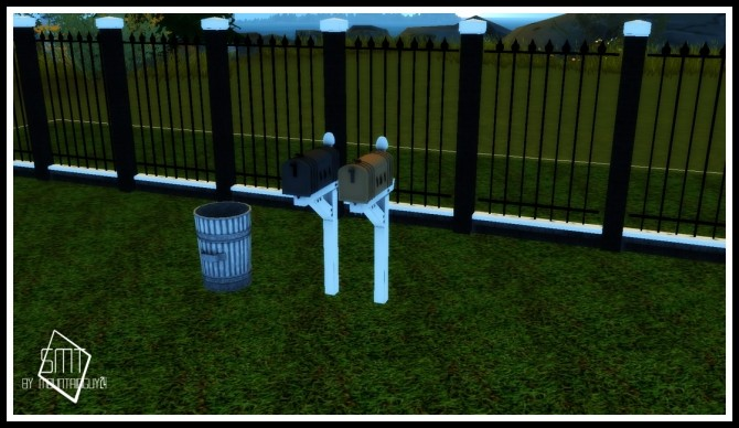 MG24 Functional Metal Trash Can & Mail Box at Sims Modern Technology image 654 670x388 Sims 4 Updates
