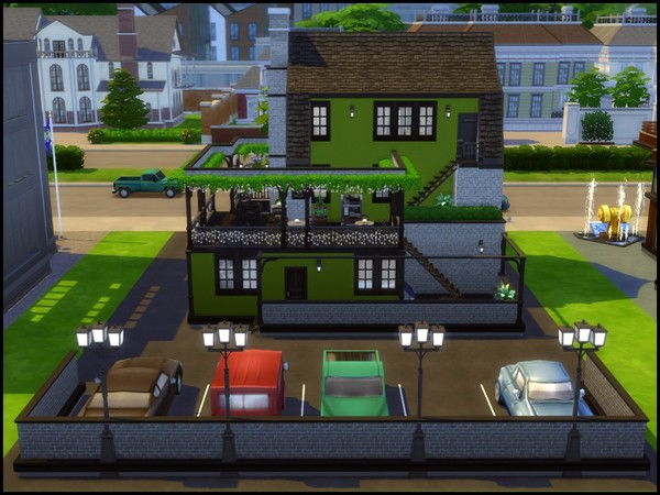 Olive Court Restaurant by sparky at TSR image 660 Sims 4 Updates