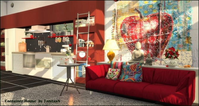 Container House at Tanitas8 Sims image 6713 670x356 Sims 4 Updates