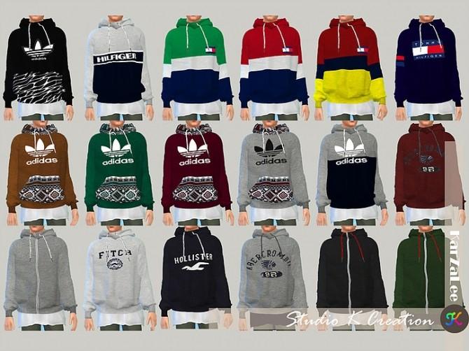 Sims 4 Giruto 46 hoodie Sweater at Studio K Creation