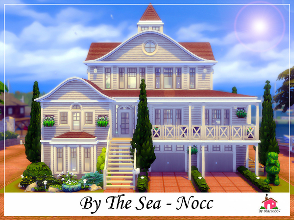 By The Sea family home by sharon337 at TSR image 677 Sims 4 Updates