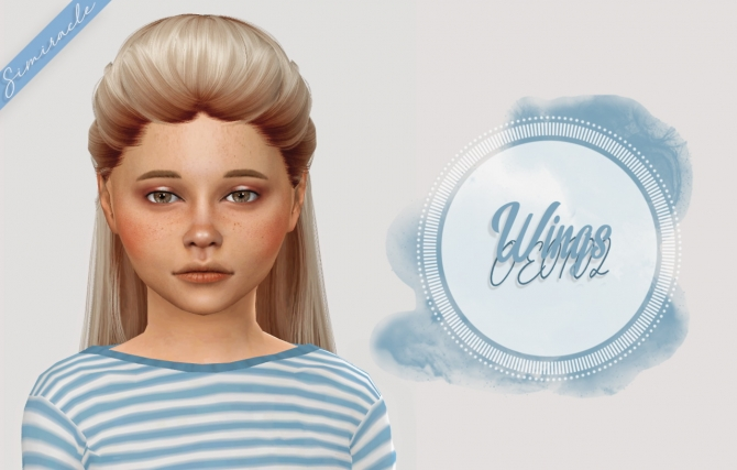 Wings Oe0102 Hair Kids Amp Toddlers At Simiracle 187 Sims 4