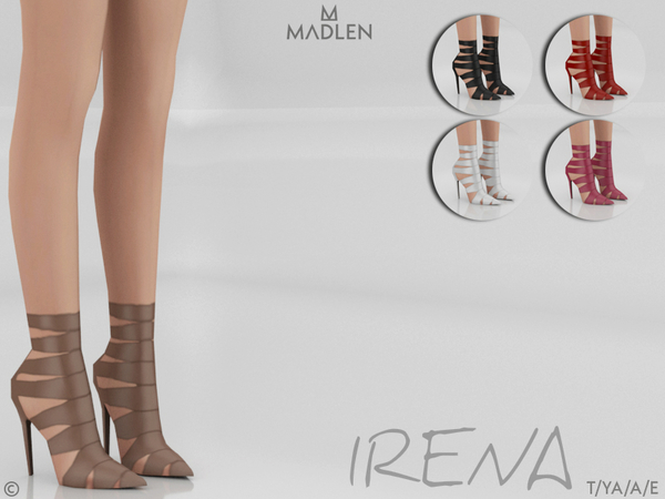 Sims 4 Madlen Irena Shoes by MJ95 at TSR