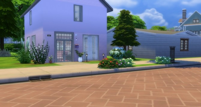 Sims 4 Ginger house by Rissy Rawr at Pandasht Productions
