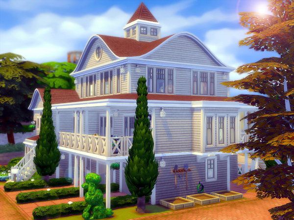 By The Sea family home by sharon337 at TSR image 697 Sims 4 Updates