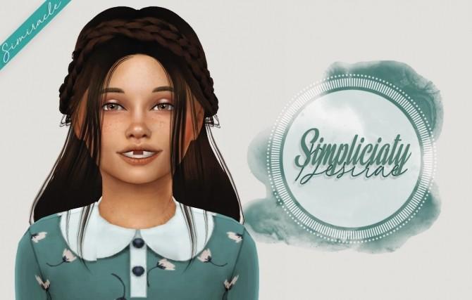 Sims 4 Simpliciaty Desirae Kids Version at Simiracle