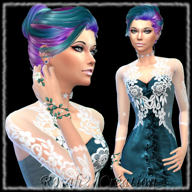 Téha by Rosah at Sims Dentelle image 7016 Sims 4 Updates