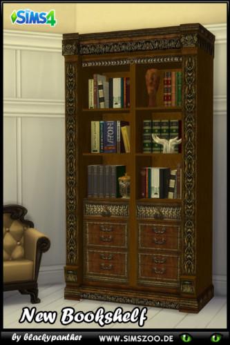 Royal Set Bookshelf By Blackypanther At Blackys Sims Zoo