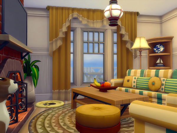 By The Sea family home by sharon337 at TSR image 707 Sims 4 Updates