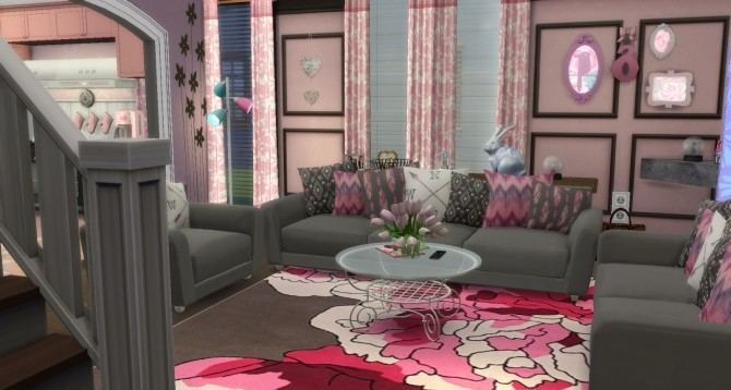 Ginger house by Rissy Rawr at Pandasht Productions image 7110 670x358 Sims 4 Updates