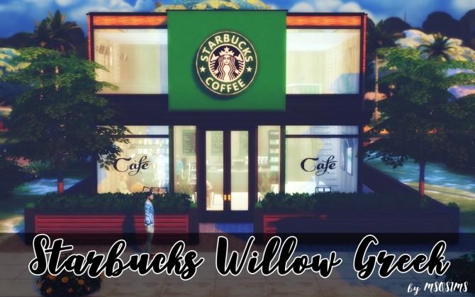 Starbucks Willow Greek at MSQ Sims image 7113 670x419 Sims 4 Updates