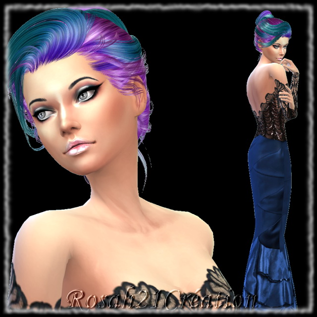 Téha by Rosah at Sims Dentelle image 7120 Sims 4 Updates