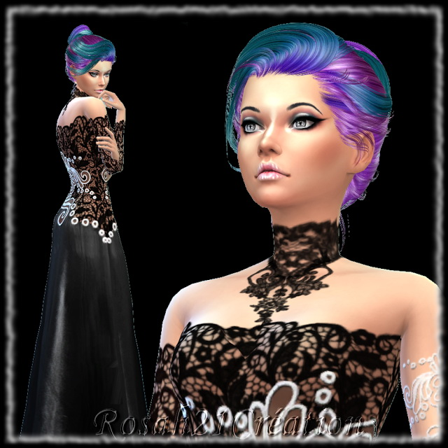 Téha by Rosah at Sims Dentelle image 7218 Sims 4 Updates