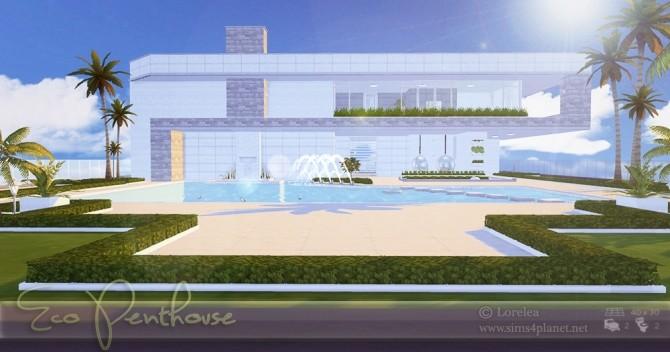 Eco Penthouse at Lorelea image 726 670x352 Sims 4 Updates