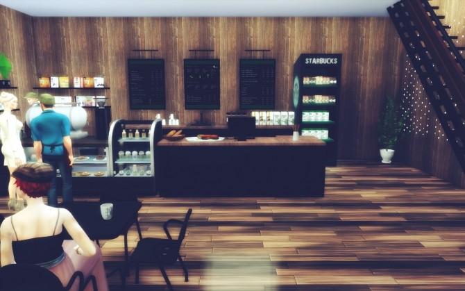 Starbucks Willow Greek at MSQ Sims image 749 670x419 Sims 4 Updates