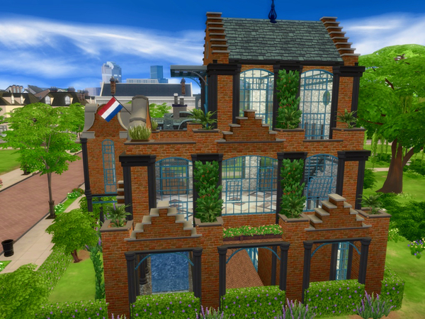 Sims 4 Another house fire Move to Firehall 12 by QubeDesign at TSR