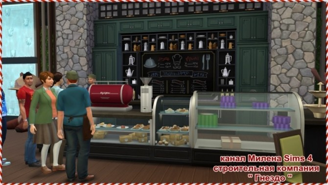 Sims 4 Simsik Cinema at Sims by Mulena