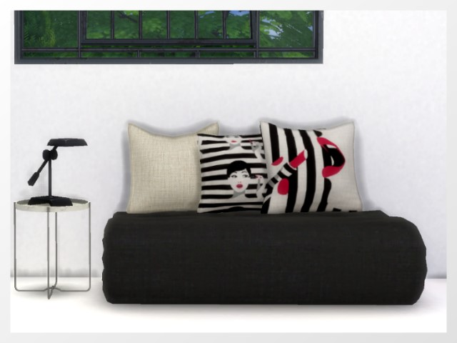 Folded Loveseat by Oldbox at All 4 Sims image 7617 Sims 4 Updates